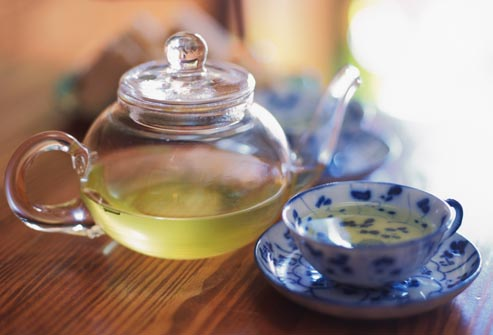 getty rm photo of green tea